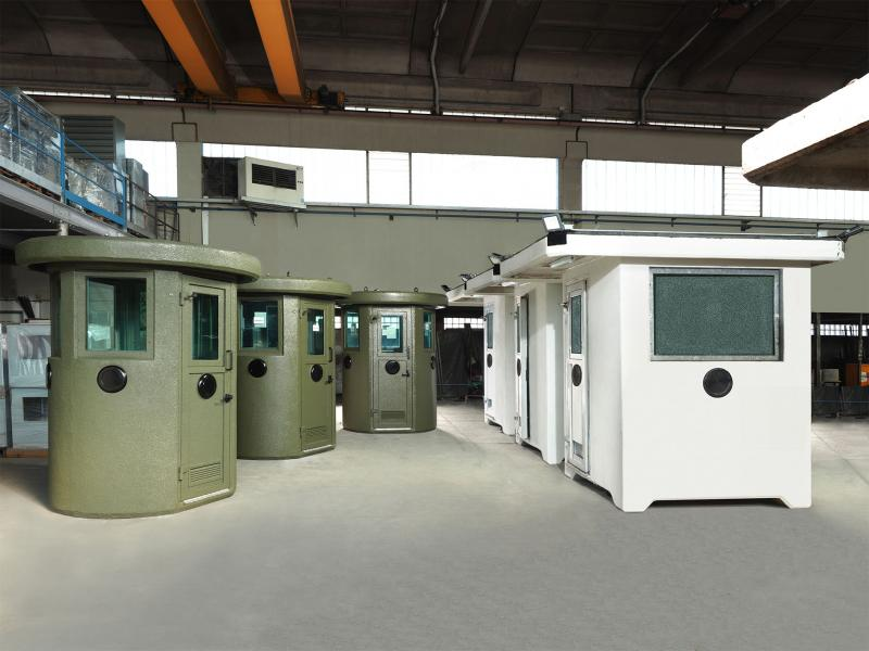 GUARD BOOTHS IN REINFORCED CONCRETE