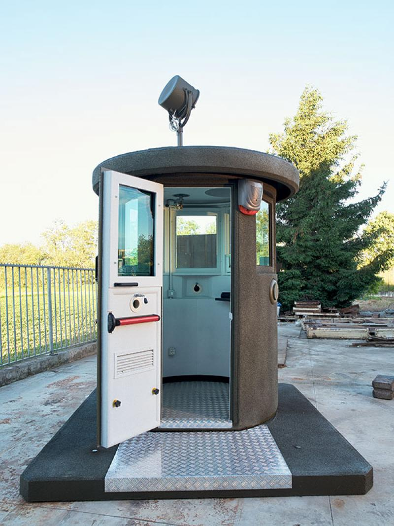 Bullet Proof Windows >> E.T.E.M. - ETEM SECURITY STRUCTURES - Guard booths in ...
