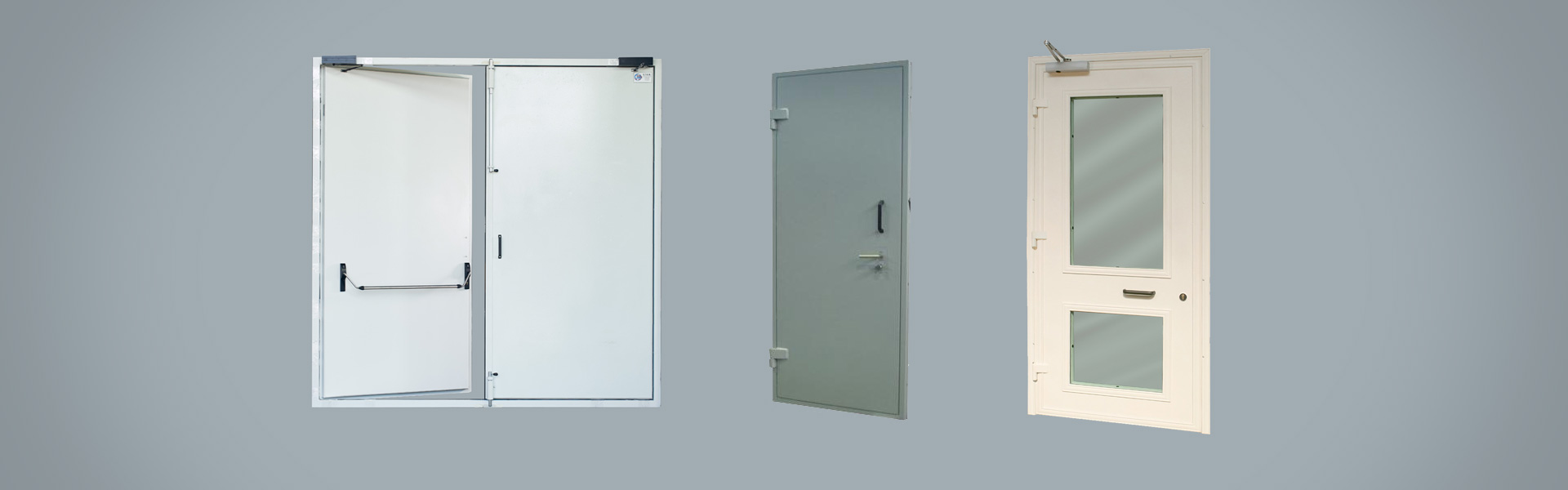 Blast Doors: security certified high-quality materials doors