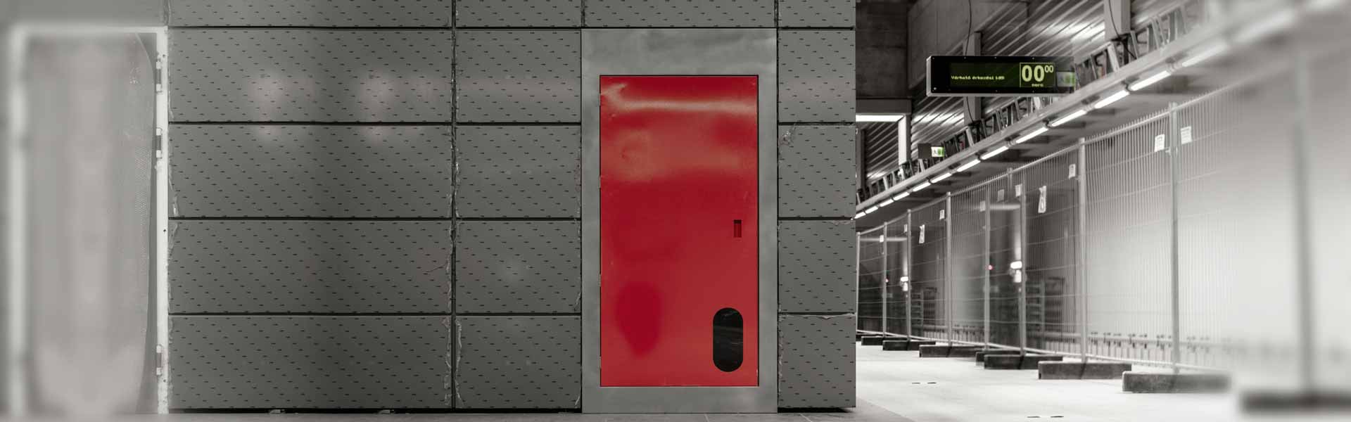 Certified blast doors and ballistic doors and structures for the protection of critical areas