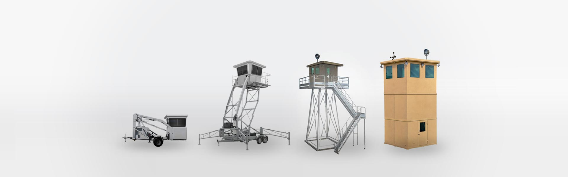 Guard towers and defensive structures: unique security system with superior technical features