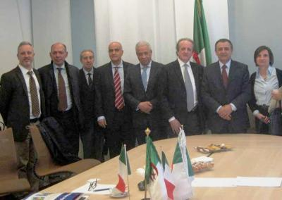 Industrial Cooperation beetwen Italy and Algeria