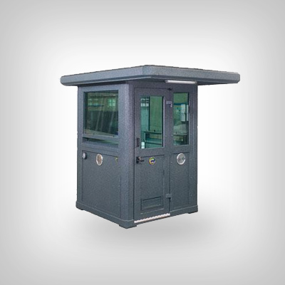 Guard booths in steel