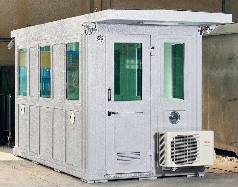 GUARD BOOTHS IN STEEL AB 100 SERIES