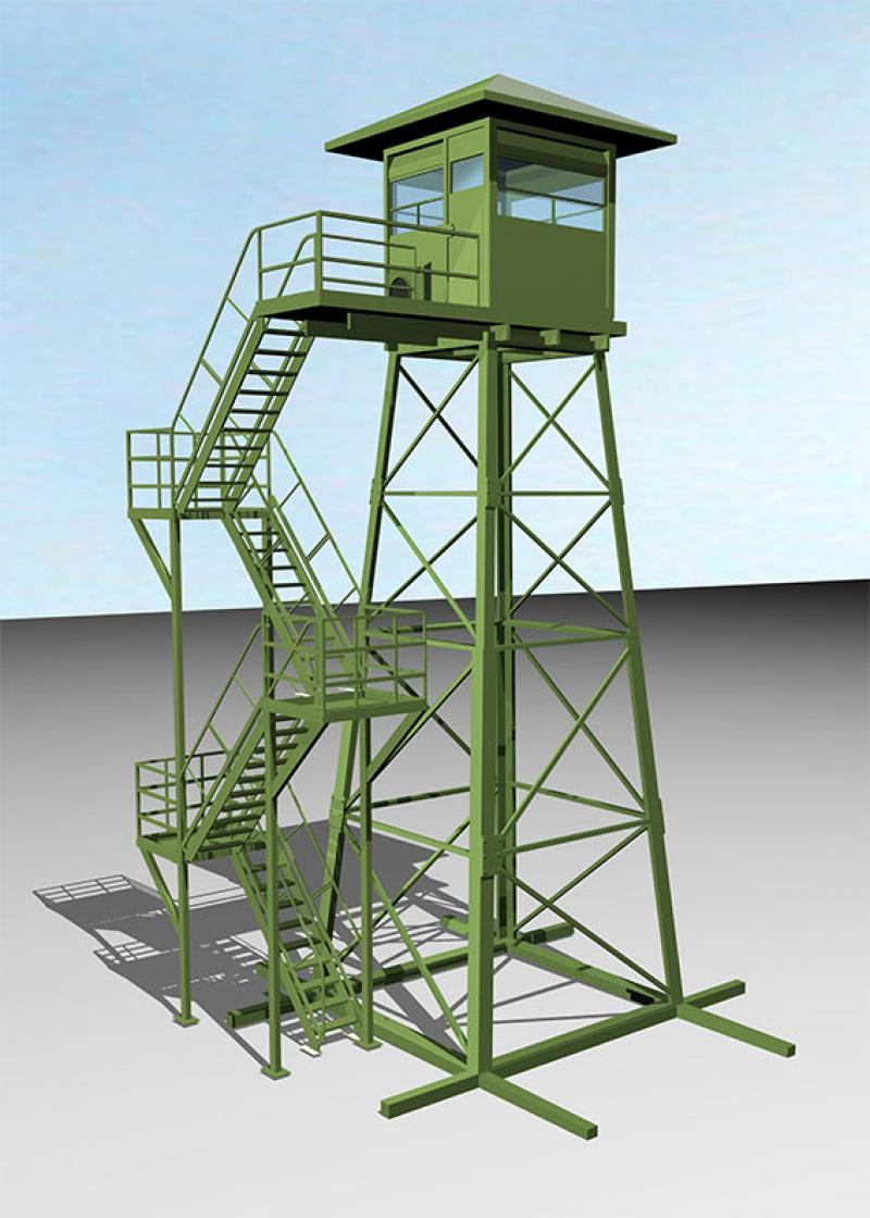 ARMORED GUARD TOWER