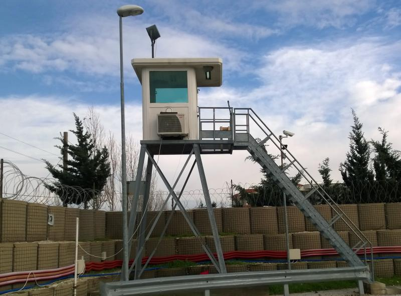 Guard towers in ballistic steel AB/100 series