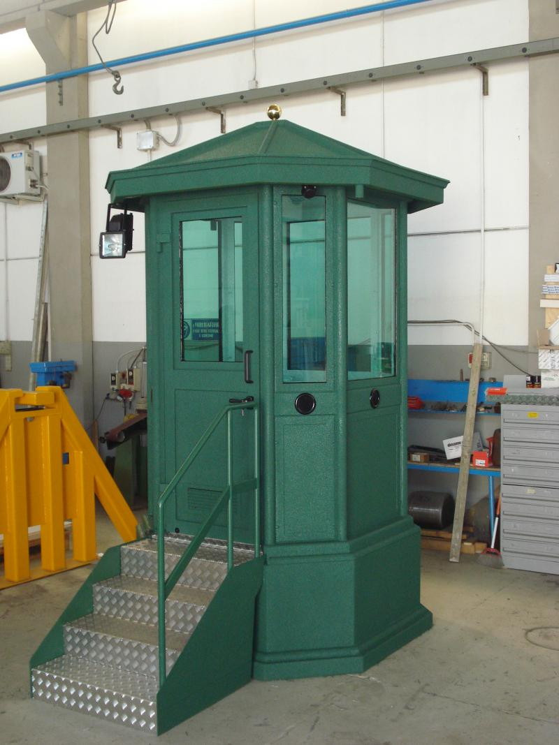 GUARD BOOTH MOD.1 ABE 101 WIH BASEMENT (OPT)