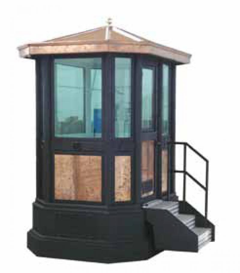 GUARD BOOTH MOD. 2 ABE 101 WITH BASEMENT (OPT)