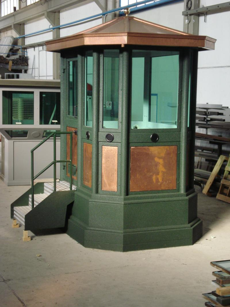 GUARD BOOTH MOD.2 ABE 101 WITH BASEMENT (OPT)